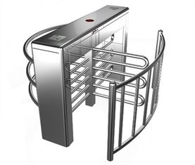 Trung Quốc Stainless Steel Biometric Full Height Turnstile With LED Display For Apartment nhà máy sản xuất