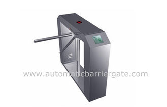 High Class Stainless Steel ID Card Tripod Turnstile Gate with Single Direction