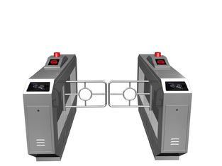 Trung Quốc Magnetic Card One-way Direction Self-checking Automatic Swing Gate Barrier RS485 AC220V nhà máy sản xuất