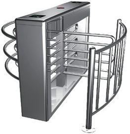 Trung Quốc 0.2s RS485 Stainless Steel Tube Automatic Rotation Full Height Turnstile For Subway nhà máy sản xuất