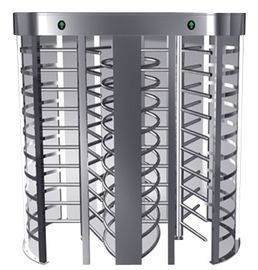 One-way Direction Full Height Turnstile Entrance Gate with Stainless Steel Tube (0.2s)