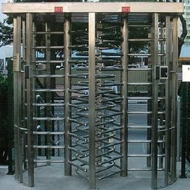 Trung Quốc 30 Persons / Min Stainless Full Height Turnstile with Sound and Light Alarm for Museum nhà máy sản xuất
