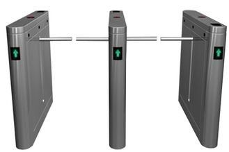 Trung Quốc Outdoor Dual Way 180 Angle Barrier Arm Gates with LED Display for Bus Station RS485 nhà máy sản xuất
