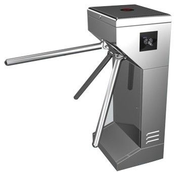 Vertical Stainless Steel Tripod Turnstile Gate For Park or Airport nhà cung cấp