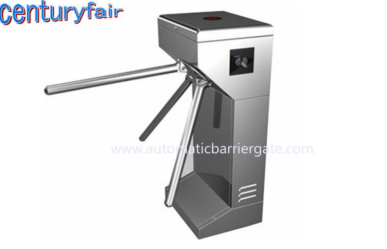 ID Card LED Double Direction Prompt Vertical Tripod Turnstile Gate for Supermarket nhà cung cấp