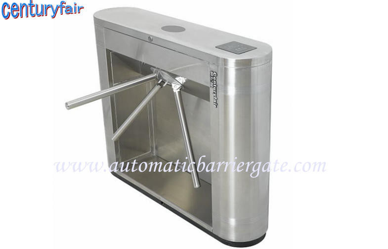 Stainless Steel Tripod Turnstile Gates For Supermarket Time Attendance nhà cung cấp