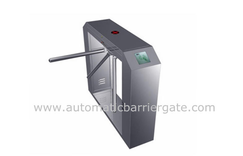 High Class Stainless Steel ID Card Tripod Turnstile Gate with Single Direction nhà cung cấp
