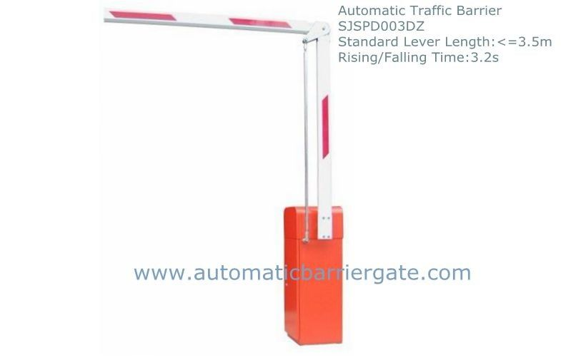 3.2s Heavy Duty High Integration Customizable Reliable Powder Coating  Automatic Traffic Barrier Gate nhà cung cấp