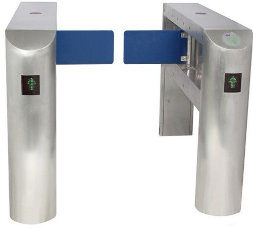 IC Card Two-way Direction DC 24V Brushed Motor Automatic Swing Gate Barrier for Museum nhà cung cấp