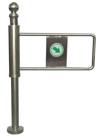Indoor 90 Angle One-way Direction Auto Reset Economic Manual Swing Gate for Subway nhà cung cấp