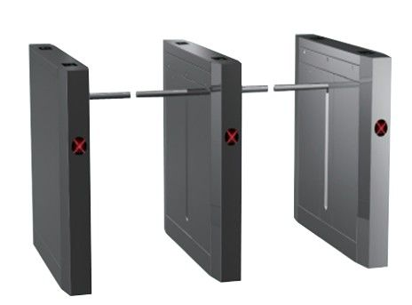 ID Card Outdoor Dual Way 180 Angle Barrier Arm Gates with 304# Stainless Steel Plate nhà cung cấp